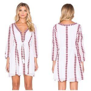 NWT Tularosa Libertine Embroidered Tunic Dress